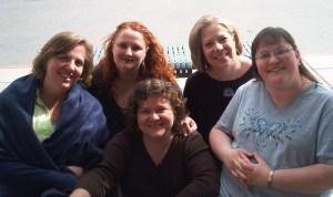Paula, Niki, Heather, Jan, and Chelf