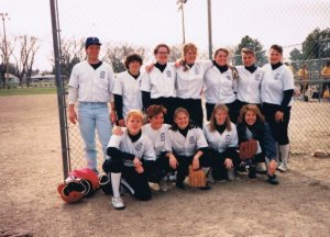 YC Women's Softball 1992-92